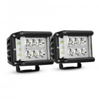 Buy cheap Work Light CREE LED Off Road Driving Light 2 X 45W Side Shot Pod Cubes For Vehicle product