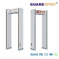 Buy cheap Led Visual Audible Alarm Airport Security Machines , Arch Metal Detector Camera Pictures Record product