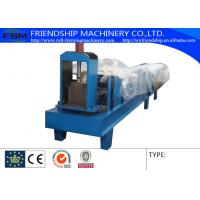 China Hydraulic Cutting Type Eave Gutter Roll Forming Machine Use 0.5-0.8mm Thickness Color Steel on sale