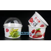 China Customized compostable biodegradable 12 oz dessert icecream ice cream cup with lid for ice cream icecream bagease packa on sale