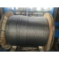Buy cheap Water Resistance Galvanized Stranded Steel Wire , 3/8 Steel Cable 7 X 3.05mm product