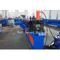 Buy cheap GCr15 CZ Purlin Roll Forming Machine / Metal Roll Forming Equipment  2mm-3mm Thick product