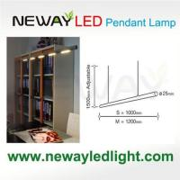 Buy cheap Suspended LED Linear Light Fixture Direct Down Lighting 3W COB LED product