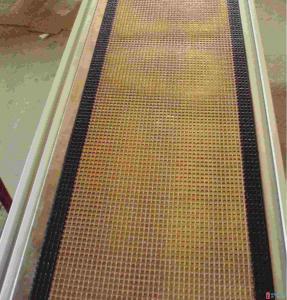 Buy cheap High quality ptfe teflon coated fiberglass mesh conveyor belt product