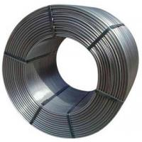 Buy cheap Cored Wire Nodulizers Wire/ Inoculants Wire/Calcium Silicon Wire of Professional from wholesalers