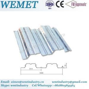 Buy cheap Steel floor deck for steel structure building WMT 76-344-688 product