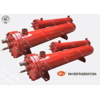 Buy cheap Stainlesss Steel  Shell & Tube Dry Heat Exchanger For Refrigeration System 11KW~900KW product