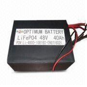 Buy cheap Energy Storage Safe Electric Vehicles Battery For Led 8v 40ah product