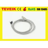 Buy cheap Neural Feedback  EEG cable DIN1.5 socke with Silver plated copper, medical eeg cable product