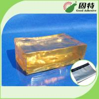 Buy cheap Strong Packaging Hot Melt Adhesive Tape Semi Transparent Yellow and semi from wholesalers