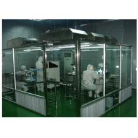 Buy cheap ISO Semiconductor Air Shower Clean Room Class 100 - 10000 With Fan Filter Unit product