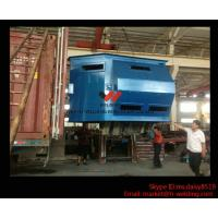 Buy cheap Metal Burnishing and Cleaning H Beam Shot Blast Machine Through Type High Output product