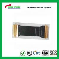 Buy cheap Sillkscreen Flexible PCB Fabrication , Mobile Phone PCB Board Black Solder Mask product
