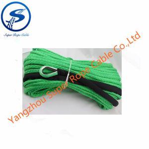 Buy cheap la corde du treuil 4x4, 12 échouent la corde de remorquage d'UHMWPE, corde synthétique pour le treuil, fibre d'UHMWPE pour le treuil 12000lbs product
