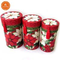 Buy cheap Custom Cylinder Paper Gift Packaging Box , Excellent Gift Tube Box product