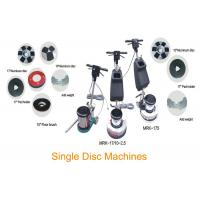 Buy cheap Single Disc Concrete Floor Cleaning Machine / Buffing Floor Polishing Equipment product