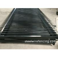 Buy cheap Factory Security Automatic Driveway Gates / Ornamental Metal Railings product