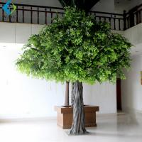Buy cheap Tall Artificial Ficus Tree For Office Decoration 3m Height Environmentally Friendly product