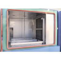 Buy cheap Sanwood Electronic Thermal Shock Test Chamber / Hot Cold Climate Impact Test Machine product