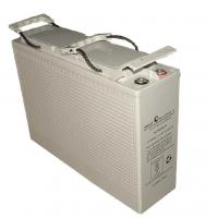 Buy cheap 12V100AH Front Terminal AGM Battery ABS Battery Case L395*W110*H286mm Dimension from wholesalers