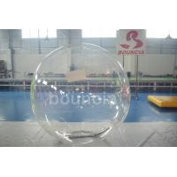 Clear TPU Inflatable Water Walking Ball With Durable Tizip Zipper