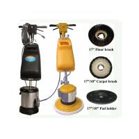 Buy cheap 240V Electric Rug Floor Cleaning Machine For Stairs With Steel Gearbox product