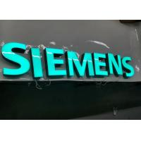 Buy cheap SIEMENS Epoxy Resin Lighted Channel Letters for Store Cabinet Advertising product