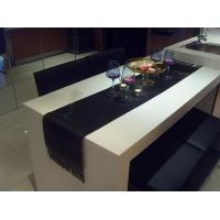 Buy cheap Black Metal Sequin Fabric for Table Runner Metallic Fabric Table Decoration product
