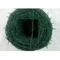 Buy cheap Tradition Twisted Barbed Wire Mesh Fence Powder Coated With 1.5-3cm Barb Length product