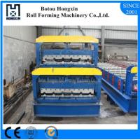 Buy cheap Panel / Tile Roll Forming Machine, Mantal Corrugated Roof Sheeting Machine product