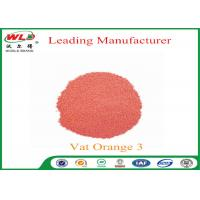 Buy cheap 100% Purity Indanthrene Dye C I Vat Orange 3 Vat Brilliant Orange RK product