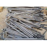 Buy cheap Carbon Steel Foundation L Anchor Bolts , Hold Down Bolts For Concrete M24 M36 product