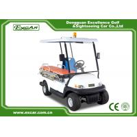 Buy cheap EXCAR 2 Seat Hospital Electric Ambulance Car 3.7KW 48V Trojan Battery Ambulance Car product