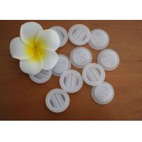 Buy cheap Non - Toxic BPA Free PE Plastic One Way Degassing Valve Natural Color from wholesalers