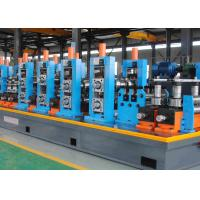 Buy cheap Durable High Frequency Welded Stainless Steel Pipe Mill , Pipe Making Machine product