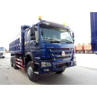 Buy cheap Famous SINOTRUK HOWO 6*4 Dump Truck , Diesel Fuel Type Heavy Commercial Trucks from wholesalers