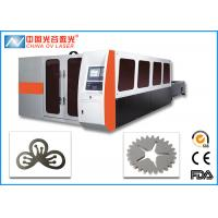 Buy cheap 3 Phase Fiber Laser Cutting Machine for Hardware Steel Plate product