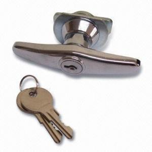 Buy cheap 大きいゲートまたはドアのためのカムが付いているTのハンドルを、締める亜鉛合金 product
