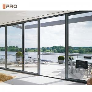 Buy cheap Aluminum Sliding Glass Patio Doors Exterior Huge Modern ISO9001 product