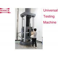 Buy cheap Static Hydraulic Universal Testing Machine , Tensile Strength Apparatus For Lab product