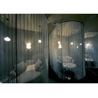 Buy cheap Fire Prevention Fireplace Wire Mesh Curtain / Aluminum Coil Drapery CE Certified product