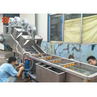 China 3 KW Power Vegetable Processor Machine Blueberry Washing Machine 800 Kg/H Capacity on sale