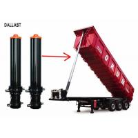 Buy cheap Telescopic Single Acting Hydraulic Cylinder for Trailers Tankers Flatbed Tippers product
