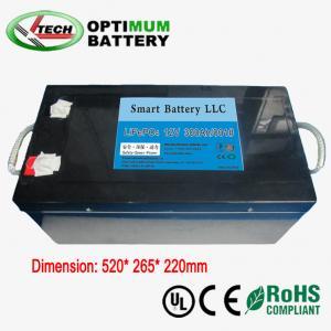 Buy cheap 12v 300ah E-Bike Lifepo4 Battery Rechargable Electric Bike Batteries product
