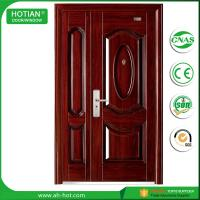 Quality American Style Plastic Steel Door Exterior Door Security Door Metal Door for Keeping Home safety for sale