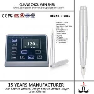 Buy cheap Stylo électronique de maquillage d'écran de CTM046 LED 3D de tatouage permanent rotatoire numérique de sourcil product