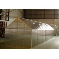 Buy cheap Super size 10mm UV twin-wall Agricultural Greenhouse / Portable Garden Greenhouse 8' x 32' product