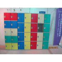 Buy cheap Strong Plastic Gym Lockers 8 Comparts 1 Column Swimming Pool Lockers product