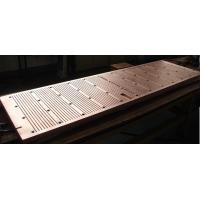 Buy cheap Wear Resistance Copper Mould Plate For Continuous Casting Machine with ISO Certification product