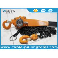 China 0.75 - 6 Ton Chain Lever Hoist Chain Pulley Block For Lifting and Hoisting wholesale